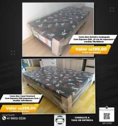 Oferta**Feirão De Camas Box, Direto Da Fabrica, Novo
