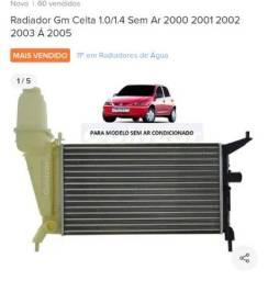 Título do anúncio: Radiador Celta reservatório sem ar (novo)?