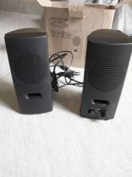 Caixa de Som Para PC, 110v,1Rms, Multimidia,ZERINHA/ACEITO TROCAS