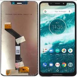 Tela Touch Display Motorola One One Vision One Action