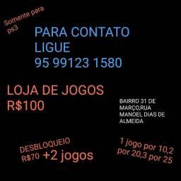 Título do anúncio: VENDO JOGOS DE PS3 E DESBLOQUEIO E BAIXO LOJAS
