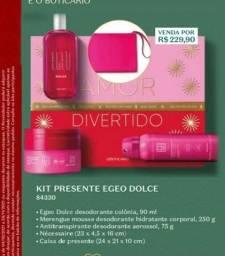 Título do anúncio: kit egeo dolce o boticario perfume