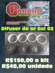 Difusor do ar Gol G5