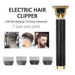 Título do anúncio: Maquina de Cortar Cabelo T9 Vintage - cor preta (cabelo/barba/depilação)