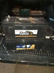 Bateria 150 amp uma zetta uma Magneti Usada 3x sem juros No cartão R$250,00 cada na troca