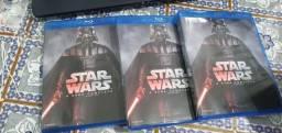 Título do anúncio: Box BLURAY Star wars  e Box DVD  matric