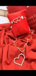Conjuntinhos, colar e pulseira
