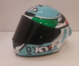 Capacete KYT - TT Corse réplica piloto Dalla Porta (mundial moto3) Tamanho L - 60