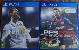 Vendo jogos PlayStation 4