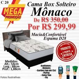 Título do anúncio: CAMA BOX MÔNACO (SOLTEIRO)