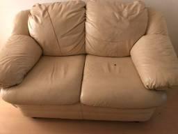 Sofás de couro usados, super confortáveis
