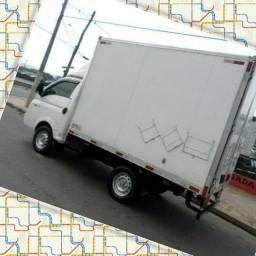 Título do anúncio: Frete e Mudança caminhão baú HR Goiânia,Anápolis, Trindade etc
