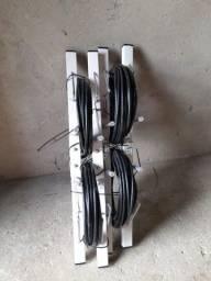 Antena digital 10 metros de cabo