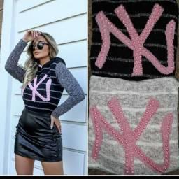 Blusão NY tricô