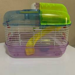 Título do anúncio: Gaiola hamster diversão super luxo completa