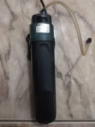 Bomba/filtro para aquário com lâmpada UV