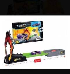 Pista Racing Track com lançador