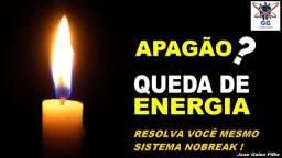 Título do anúncio: Falta ou Queda de energia elétrica ? Apagão ? Resolva você mesmo