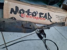 Título do anúncio: Escape 2x1 da xre 300 da motocarescape