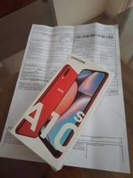 Título do anúncio: Samsung A10S Novo na caixa com nota e garntia. COMPLETO, IMPECÁVEL.