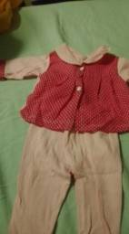 Roupas calsa blusa conjuntos