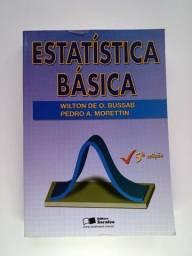 Título do anúncio: Livro universitário - Estatística Básica - Morettin e Bussab - Administração/Estatística