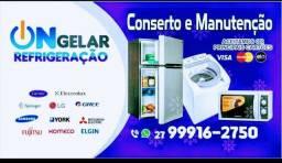 Título do anúncio: Conserto Máquina de Lavar e Geladeira