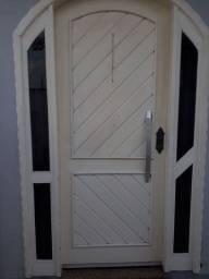 Portal em madeira Itaúba
