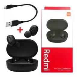 Título do anúncio: Fone de Ouvido Bluetooth Redmi AirDots 2 Xiaomi Original + Cabo Micro Usb