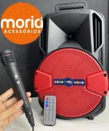 Título do anúncio: Caixa de Som Semiamplificada com Microfone