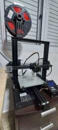 Título do anúncio: Impressora 3d ender 3 pro + 2 filamentos de 1kg