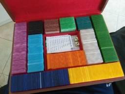 Fichário de Poker madrepérola anos 70