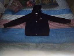 Título do anúncio: Jaqueta soft preta infantil tam. XL (7-9 anos) R$30