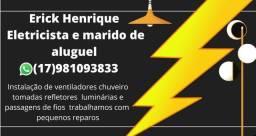 Título do anúncio: Marido de aluguel e eletricista