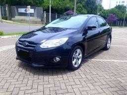 2014 Ford Focus Sedan Automático Top Linha 65mil km Ipva Pago Financio