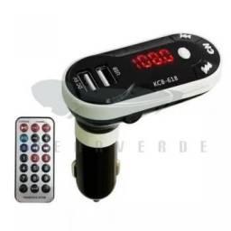 Título do anúncio:   Modulador MP3 FM Radio carro KCB-618