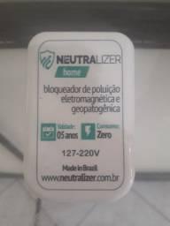 Kit Bloqueador de Poluição Eletromagnética (Aparelho Doméstico + Pulseira)