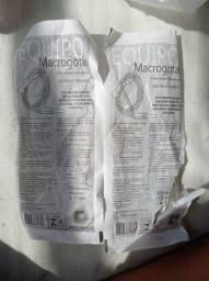 Equipo macrogotas e enteral