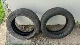 Título do anúncio: 2 pneus 215/55 r 18 Continental