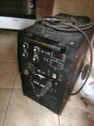 Título do anúncio: Máquina de solda mig e eletrodo $9.500