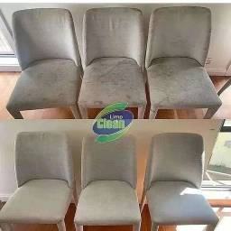 Título do anúncio: Lavagem a seco cadeiras de jantar