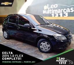 Celta 2014 1.0 Flex Completo Mensais a partir de 479,00