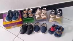 Vendo Sapato e Sandália para bebê