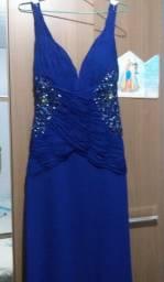 Título do anúncio: Lindo Vestido Azul Royal R$ 160,00