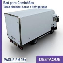 Título do anúncio: Baú Refrigerado e Baú Seco para Caminhão Modelo Anos 2010, 2.. Y 403