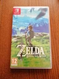 Jogo Zelda Breath Wild C/Case