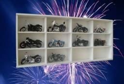 Estante para 12 motos do Super/ Harley