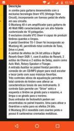 Caixa para guitarra Onerr Mustang 40