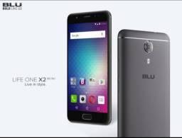 Celular Blu Life One X2 Mini (64GB + leitor de impr. dig.)