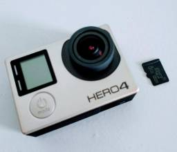 Câmera Gopro Hero4 Silver Original